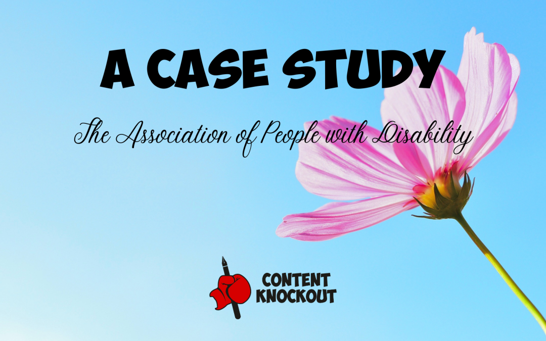 Nonprofit Marketing Case Study – The Association of People with Disability (APD)